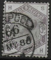 SG191.  3d.Lilac. Very Fine Used.  Cat.£100.  Ref:078
