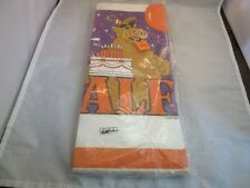 "Vtg 1987 ALF Birthday Party paper table cloth. NOS. 54"" x 102"""