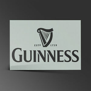 Guinness Stencil Beer St Patrick Day Mylar Sheet Painting Art Craft 190 Micron