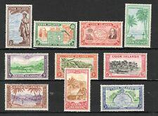NCHA: United Kingdom British Cook Islands #131-40 MLH VF SCV $47.50