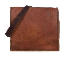 Accessoires sac bandoulière marron en cuir pour homme