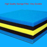 AquaTee BIO Sponge Mat Aquarium Fish Tank Filter Pad Media Sump Sponge 50x50x3cm