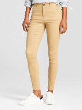 NWT A New Day Women's Skinny Chino Pants Tan Size 10R