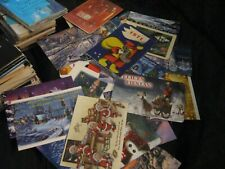 24 Christmas themed pocket calendars different year from different countries