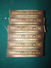 Anciennes boite médicament POMMADE A L'OXYDE DE ZINC CODEX   Périmé
