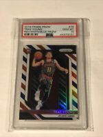 Trae Young 2018-19 Panini Prizm Rookie #78 Red White Blue PSA 10 GEM MINT Hawks