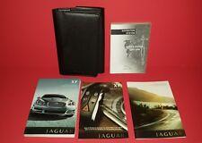 2008 Jaguar XF Owners Manual w/ Navigation System DVD