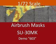 "Airbrush Masks 1/72 Su-30MK ""603"" Demonstrator Farnborough 1996 Livery"