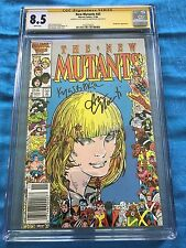 New Mutants #45 - Marvel - CGC SS 8.5  - Signed by Kyle Baker, Ann Nocenti
