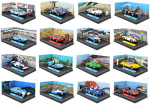 Lot de 16 voitures BD MICHEL VAILLANT 1/43 - ALTAYA miniature Diecast Car L16