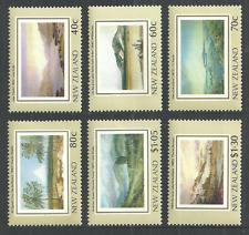 NEW ZEALAND 1988 SHIPS EXPLORER CAPTAIN COOK HERITAGE MOUNT EGMONT ART SET MNH