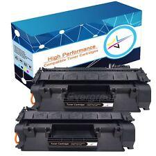 2 PK New CE505A 05A Toner Cartridge For HP Laserjet P2035 P2035n P2055dn Printer