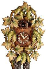 Schneider Anton Söhne Leaves 40cm- 8T 327/10 Cuckoo Clock Original schwarzwälde