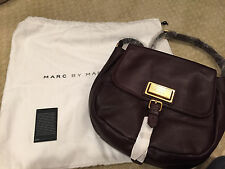 NWT Marc by Marc Jacobs Carob Brown saddle bag crossbody