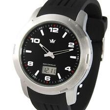 Sportliche Herren Funkuhr (Junghans-Uhrwerk) Edelstahl Armbanduhr Funk 964.4000