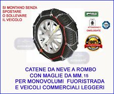 Catene da neve 215/75 R15 per HYUNDAI Galloper MM.15 Cerchio 15