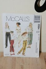 McCall's 2884 Misses Pants Sewing Pattern Size 8 10 12 FREE SHIIPPING