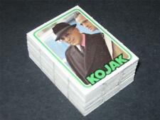 KOJAK TV Series © 1975 Monty Gum Complete 72 Puzzle Back Card Set