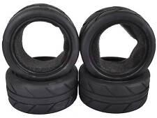 4PCS RC 1/10 On-Road Car Soft Foam Rubber Tyres Tires Fit HSP HPI Redcat 6082