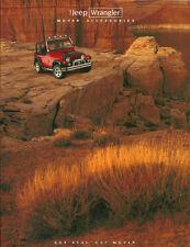 1997 JEEP WRANGLER Accessories/Opciones/Catálogo/ CATALOG: Barra Luz, estéreo,