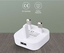 Mains Charger USB Plug / Charging Data Cable For iPhone 6,7,5,iPad,Air,Mini ETC
