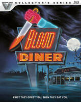 Blood Diner (Blu-ray Disc, 2017; Collector's Series) NEW w/ RARE Slipcover
