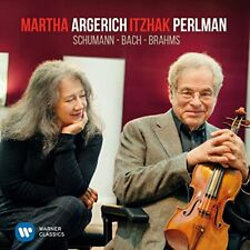 Martha Argerich and Itzhak Perlman - Bach and Schumann [CD]