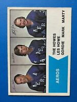 Gordie Howe with Mark and Marty Howe WHA 1974-75 O-Pee-Chee Hockey Card #1