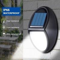 10LED Solar Power Wall Light Waterproof Outdoor Garden Yard Lamp Pathwa