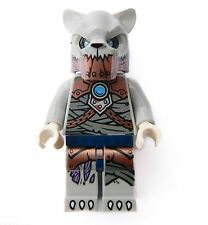 Lego Saber-Tooth W1 Tiger minifigure from set 70232 loc125 Legends of Chima #NEW