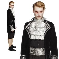 Smiffys Smiffy's Fever Male Baroque Vampire Cravat and Trousers