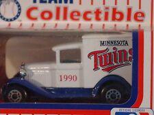 MATCHBOX 1990 TEAM COLLECTIBLE MINNESOTA TWINS