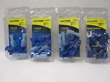 New listing Calterm Lot-3 Pkgs T Tap-1 Pkg Spade Terminals 1