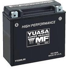 Yuasa - YUAM7250H - High Performance Maintenance Free Battery, YTX24HL~
