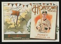 2011 TOPPS ALLEN AND GINTER HOMETOWN HEROES #HH1 BUSTER POSEY – NM-MT (8)