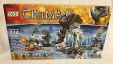 LEGO RETIRED LEGENDS OF CHIMA 70226 Mammoth's Frozen Stronghold w/ Maula Rogon