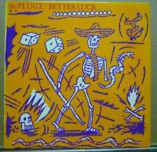 THE PLUGZ Better Luck LP Original 1981 + VINTAGE PUNK Plugz 1980's GIG FLYER