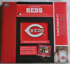 Cincinnati Reds Baseball Premade Complete Scrapbook Photo Album 12x12 NEW