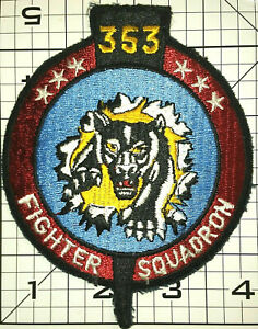 Air Force USAF 353rd Tactical Fighter Squadron Embroidered Patch