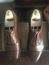 Edward Green Andrew UK9.5F / US10 Dark Oak Antique Balmoral Shoes Lasted Trees