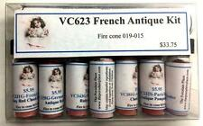 French Antique China Paint Kit