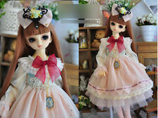 1/4 bjd 42-45cm MSD girl doll clothes dress outfits set dollfie luts #SD-133M