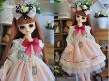 1/3 bjd 56-58cm SD girl doll dress outfits set dollfie luts #SD-133L ship US