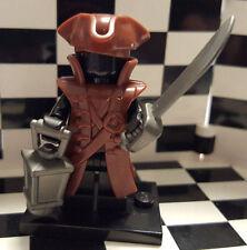 Brickwarriors Pirate Lego Minifigure Accessory Pack Arrrrr! (Brown)