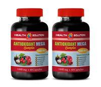 antioxidant - Antioxidant Mega Complex - regulate blood pressure 2 Bottles