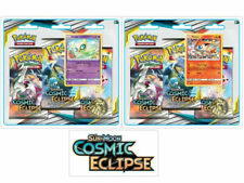 Pokemon TCG Cosmic Eclipse 2 Blister Packs Celebi + Victini Promo SM12