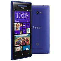 HTC Windows Phone 8X 16GB T-Mobile Blue Excellent Condition Smartphone