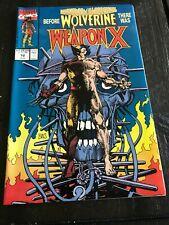 Marvel Comics Presents 72 Weapon X Wolverine Origin Disney+ NM CASE FRESH CGC IT