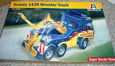 Italeri 1/24 Scania 143R Wrecker Truck