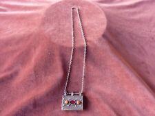ancien bijou berbere reliquaire argent